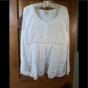 Sundance lace blouse